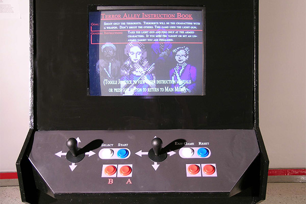 A detailed view of the player controls.