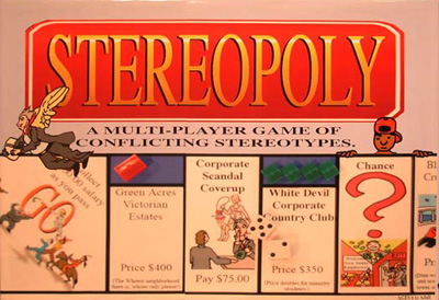 Stereopoly (Game Box - Front)